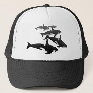 Orca Whale Baseball Cap Killer Whale Hats Caps