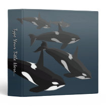 Orca Whale Binder Custom Killer Whale Binder Album