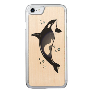 Orca Whale Carved iPhone 8/7 Case