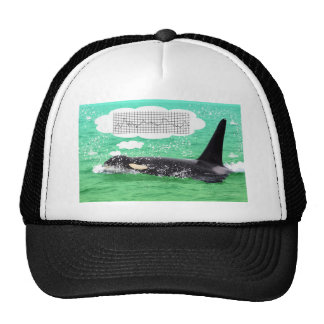 Orca Whale Christmas Green Sea Merry Christmas Trucker Hat
