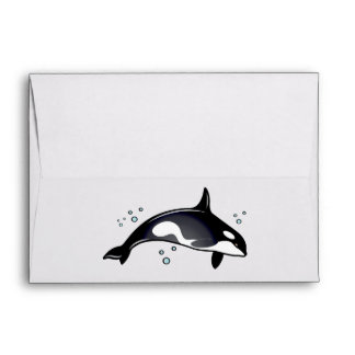 Orca Whale Envelope