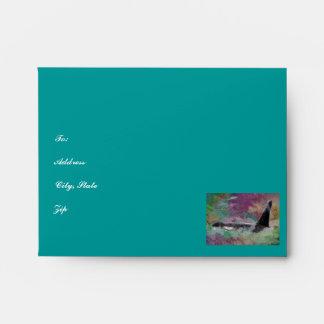 Orca Whale Fantasy Dream - I Love Whales Envelope