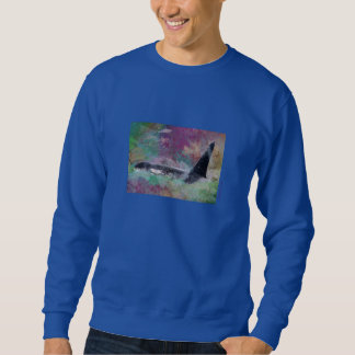 Orca Whale Fantasy Dream - I Love Whales Sweatshirt