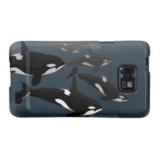 Orca Whale Galaxy S2 Case Killer Whale Art Case