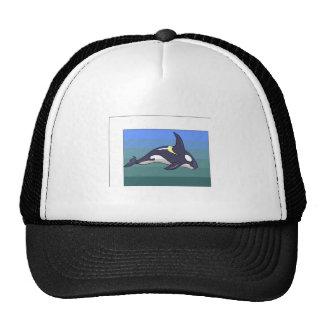 Orca Whale Trucker Hats