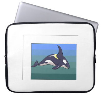 Orca Whale Laptop Sleeves