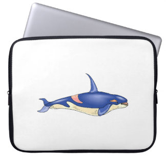 Orca Whale Laptop Sleeve