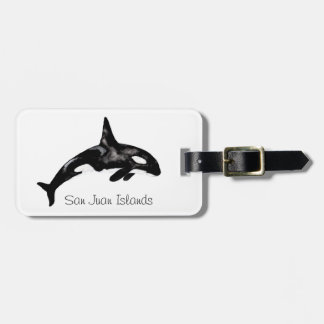 Orca Whale Tags For Bags