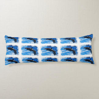 Orca Whale Body Pillow