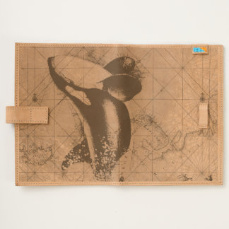 orca whale map journal