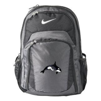 Orca Whale Nike Backpack