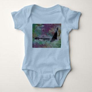 Orca Whale Orcinus Cloud Fantasy Baby Bodysuit