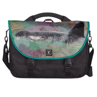 Orca Whale Orcinus Cloud Fantasy Bags For Laptop