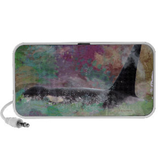 Orca Whale Orcinus Cloud Fantasy iPhone Speaker