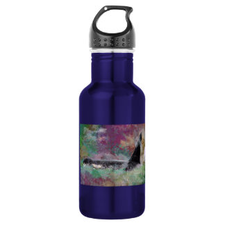 Orca Whale Orcinus Cloud Fantasy Stainless Steel Water Bottle