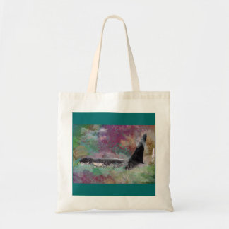 Orca Whale Orcinus Cloud Fantasy Tote Bag