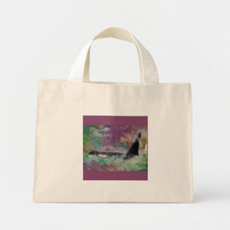 Orca Whale Orcinus Cloud Fantasy Tote Bags