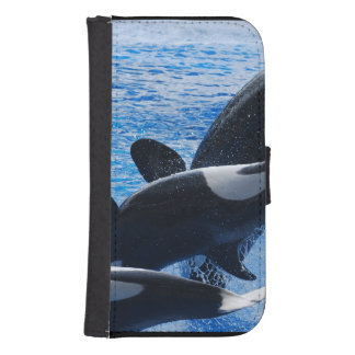 Orca Whale Phone Wallet Cases