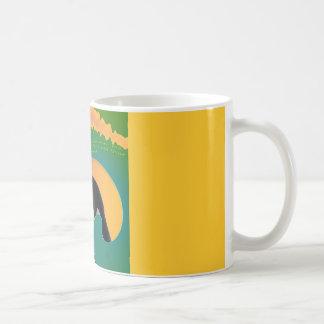 Orca Whale Rainbow Wave Coffee Mug