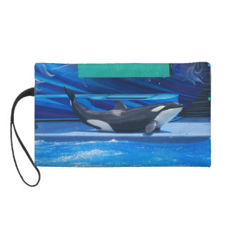 Orca Whale Showing Off Wristlets