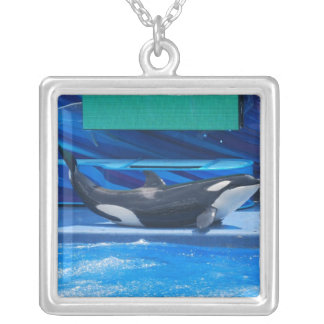 Orca Whale Showing Off Pendant