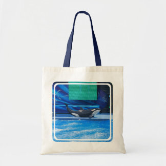 Orca Whale Showing Off Tote Bag