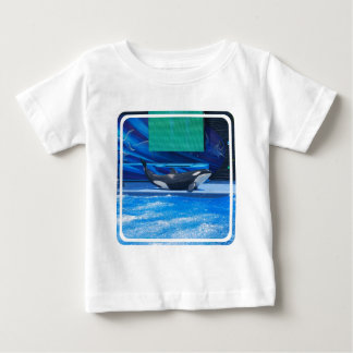 Orca Whale Showing Off Infant T-shirt