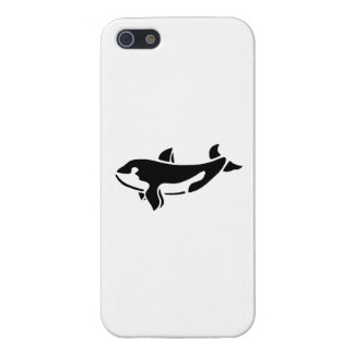 Orca Whale Silhouette Cover For iPhone 5/5S