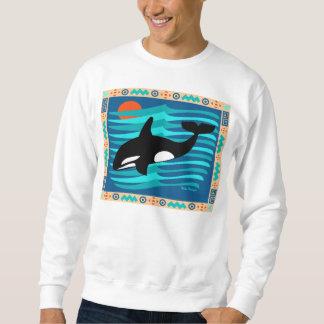 Orca Whale Sweatshirt