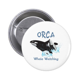 ORCA Whale Watching Button