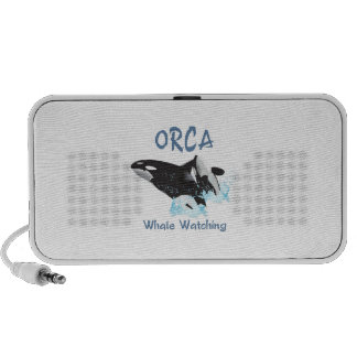 ORCA Whale Watching iPod Speaker