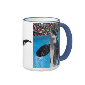 Orca Whale Water Peace Love Nature Destiny Ringer Mug