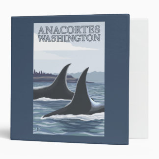 Orca Whales #1 - Anacortes, Washington Binder