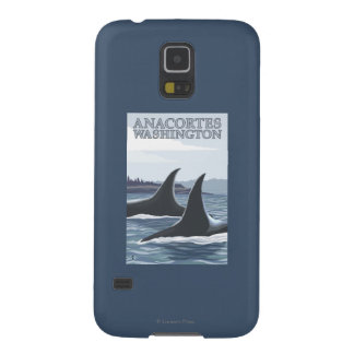 Orca Whales #1 - Anacortes, Washington Case For Galaxy S5