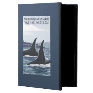 Orca Whales #1 - Bainbridge Island, Washington iPad Air Case