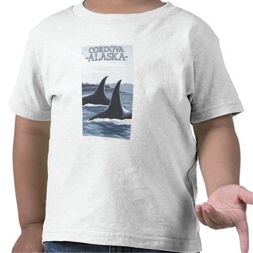 Orca Whales #1 - Cordova, Alaska Shirt