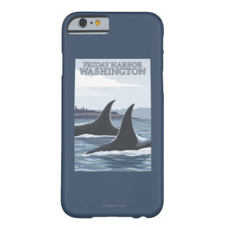 Orca Whales #1 - Friday Harbor, Washington Barely There iPhone 6 Case