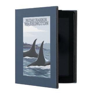Orca Whales #1 - Friday Harbor, Washington iPad Cases