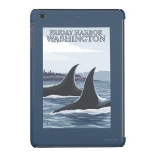 Orca Whales #1 - Friday Harbor, Washington iPad Mini Case