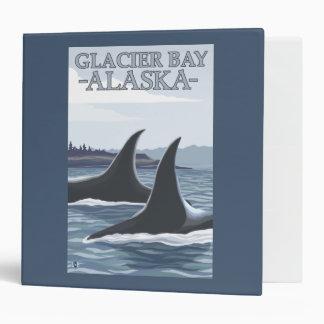 Orca Whales #1 - Glacier Bay, Alaska Binder
