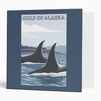 Orca Whales #1 - Gulf of Alaska Binder