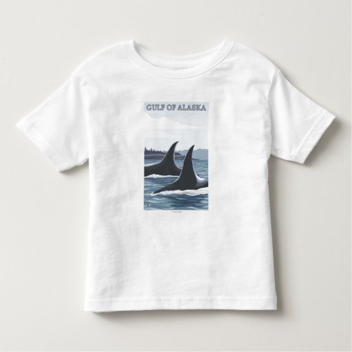 Orca Whales #1 - Gulf of Alaska Toddler T-shirt