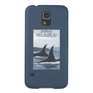 Orca Whales #1 - Juneau, Alaska Case For Galaxy S5