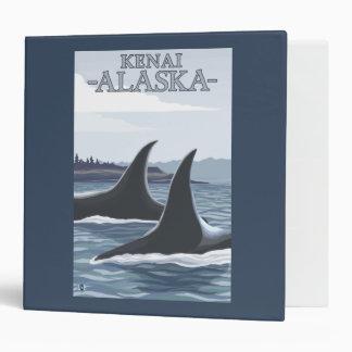 Orca Whales #1 - Kenai, Alaska Binder