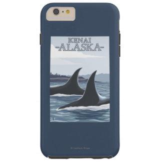 Orca Whales #1 - Kenai, Alaska Tough iPhone 6 Plus Case