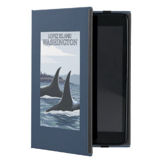 Orca Whales #1 - Lopez, Washington iPad Mini Cases