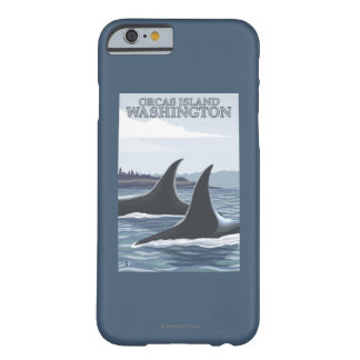 Orca Whales #1 - Orcas Island, Washington Barely There iPhone 6 Case