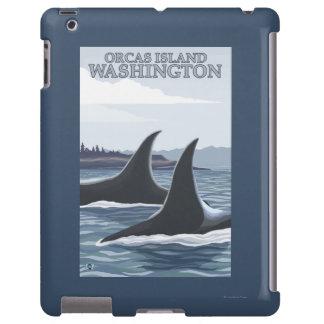 Orca Whales #1 - Orcas Island, Washington
