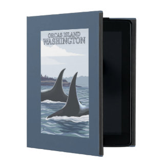 Orca Whales #1 - Orcas Island, Washington iPad Cases