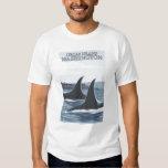 Orca Whales #1 - Orcas Island, Washington Shirts
